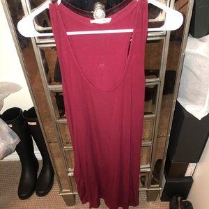 Dresses & Skirts - Maroon dress